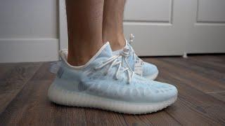 Mono Ice Adidas Yeezy 350 V2 Review & On Feet