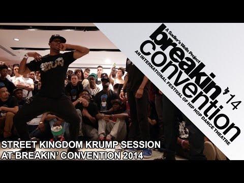 Street Kingdom krump session UK: Tight Eyez, Bdash, Konkrete, Basix, Spartan, Madhatta