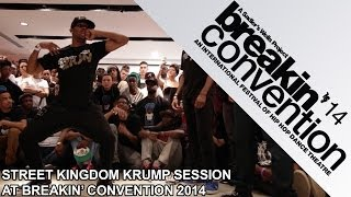 Street Kingdom krump session UK: Tight Eyez, Bdash, Konkrete, Basix, Spartan, Madhatta
