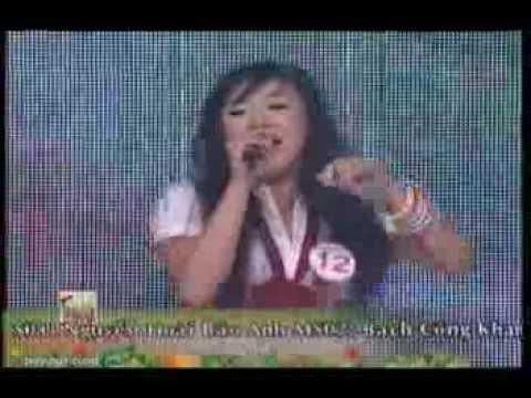 Luu Hien Trinh Hat Voi Chu Ve Con Tieng Ca Hoc Duong 2009