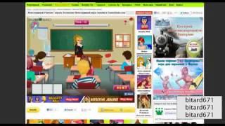 Naughty Teacher Game Голые училки Секс игра обзор huffyuv