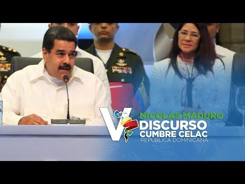 Discurso Nicolás Maduro , Presidente Venezuela V Cumbre Celac 2017