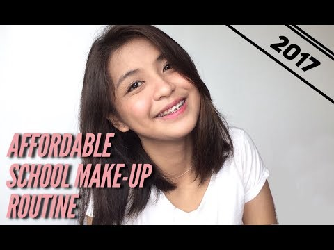 Affordable School Make-up Routine 2017 Philippines | Dianne Antigua