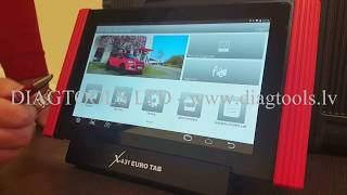 LAUNCH X-431 EURO TAB - Demonstration video