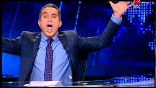 باسم يوسف يسخر من طريقة اعلان ترشح السيسي للرئاسة والاعلام