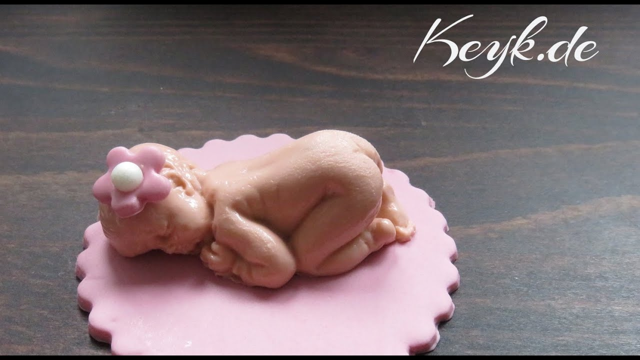 Fondant Baby Fr Cupcakes Cupcake Toppers Youtube