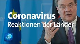 Coronavirus: Konferenz mit Merkel - Reaktionen der Landesregierungen