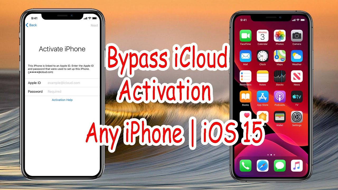 Bypass iCloud Activation   How to bypass Activation Lock on iPhone   iOS 15