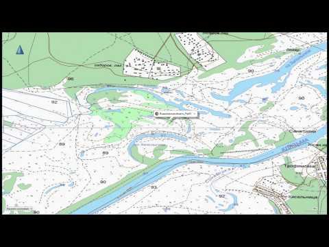 Топографическая карта Владимирской области для Garmin