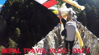 Nepal Travel Vlog Day 5  - Namche to Lukla (The Longest Day)