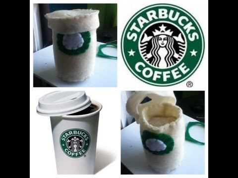 How to Make a Starbucks Coffee Plushie