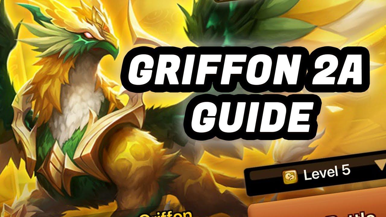 2A Griffon F2P Team Guide ~NEW SECOND AWAKENING~  Summoners War
