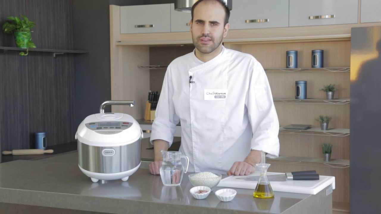 Robot de cocina chef titanium arroz blanco youtube for Robot de cocina chef titanium