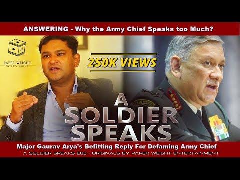 Major Gaurav Arya's