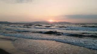 Sunset over Samos (Σάμος) Island