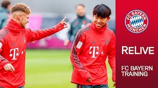 FC Bayern Training after Cup Win vs. Rödinghausen | ReLive