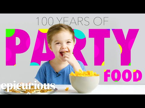 Kids Try 100 Years of Party Snacks | Bon Appetit