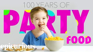 Kids Try 100 Years of Party Food
