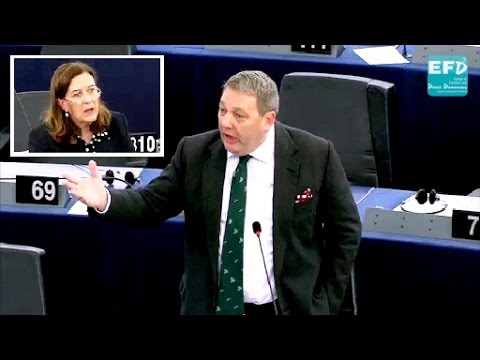 Mutual recognition solves the problem of EU imposition - David Coburn MEP