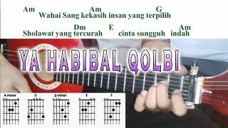 YA HABIBAL QOLBI - cover gitarlele