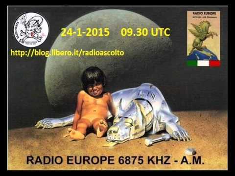 RADIO EUROPE ITALIAN PIRATE 6875 KHz