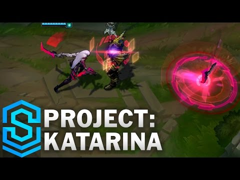 PROJECT Katarina Skin Spotlight  Assassin Update 2016  League of Legends