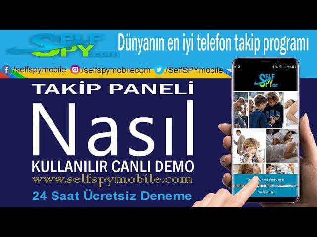 SELF SPY TELEFON DİNLEME  TAKİP PANELİ NASIL KULLANILIR