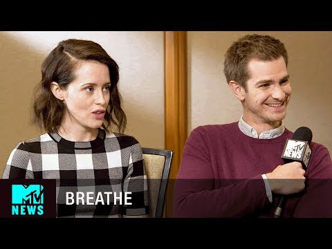 Andrew Garfield & Claire Foy on 'Breathe' & 'The Girl with the Dragon Tattoo' | MTV News