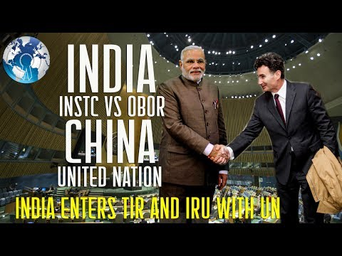 INDIA to Counter CHINA OBOR with  International North South Transport Corridor