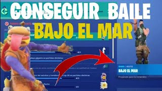 "🔥GAMEPLAY + HOW TO GET BAILE ""UNDER THE SEA""🔥 *FORTNITE*"