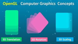 OpenGL Computer Graphics | Session-9 | 3D Transformations & OpenGL Functions for Transformations
