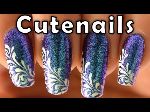Diy Training Nail Art Easy Drops By Cute Nails Youtube