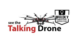 The talking drone
