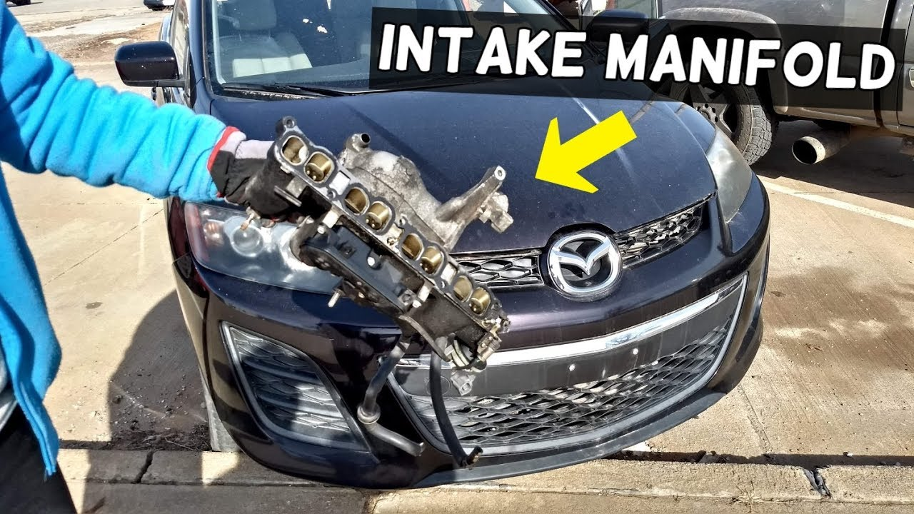 How To Remove Or Replace Intake Manifold On Mazda Cx 7 Cx7 Mazdaspeed 3 6 Youtube
