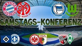 Bundesliga 30.Spieltag - Samstagskonferenz - FIFA 17 Prognose