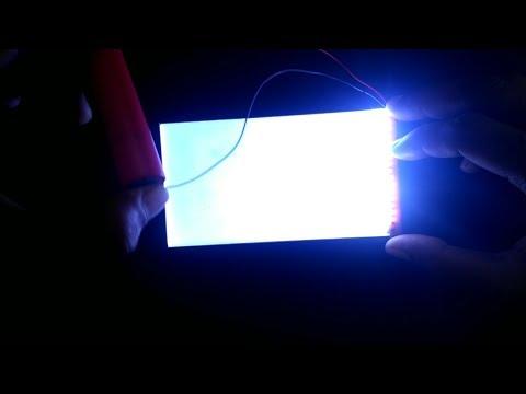 Cara Membuat Senter Dari LCD Bekas HP