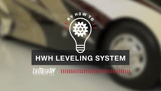 RV HWH Leveling System | RV How To: La Mesa RV