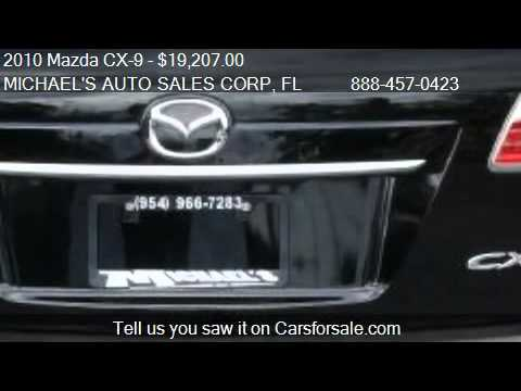 2010 Mazda CX-9 Grand Touring - for sale in Hollywood, FL 33