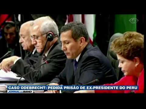 Ex-presidente do Peru teria recebido dinheiro da Odebrecht