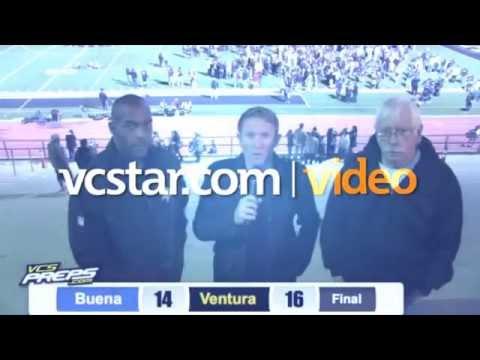 VCS Preps Postgame Extra: Buena vs. Ventura
