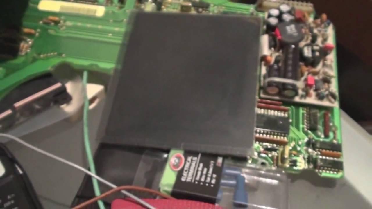 LCD Corvette Digital Dash Display Repair  YouTube