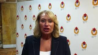 Ирина Ильичёва депутат Московской Городской Думы о совместной деятельности с ЦСКА