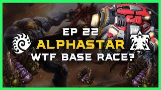 WTF BASE RACE? AlphaStar Ep 22 [ZvT] Deepmind A.I. Starcraft 2