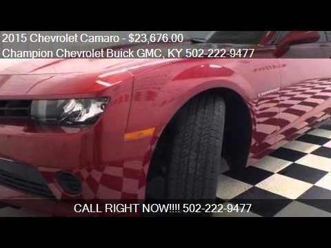 2015 Chevrolet Camaro LS 2dr Coupe W/1LS For Sale In La Gran. Champion  Chevrolet Buick GMC