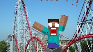 OUR BIGGEST ROLLER COSTER EVER!!! roblox