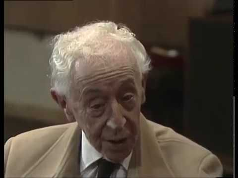 Arthur Rubinstein (Part 1) / Historic Piano Masterclass / Jerusalem Music Centre