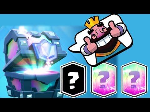 видео: clash royale - 3 легендарных сундука + игры + клан