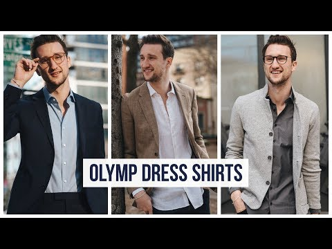 5 Different Ways To Wear A Dress Shirt Casually | Olymp Shirts | Men's Fashion