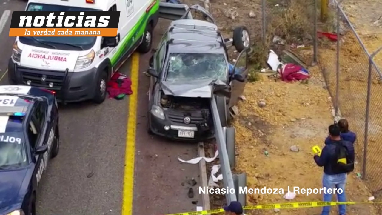 Mortal accidente en la autopista m xico quer taro youtube Noticias de hoy espectaculos mexico