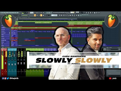 Slowly Slowly Instrumental Cover & Music Production Tutorial thumbnail